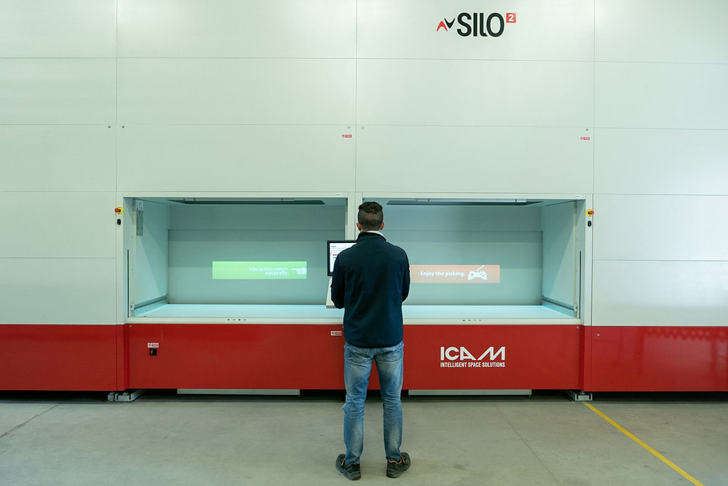 ICAM Online En | Space optimization and real-time traceability for Strumentazione Industriale