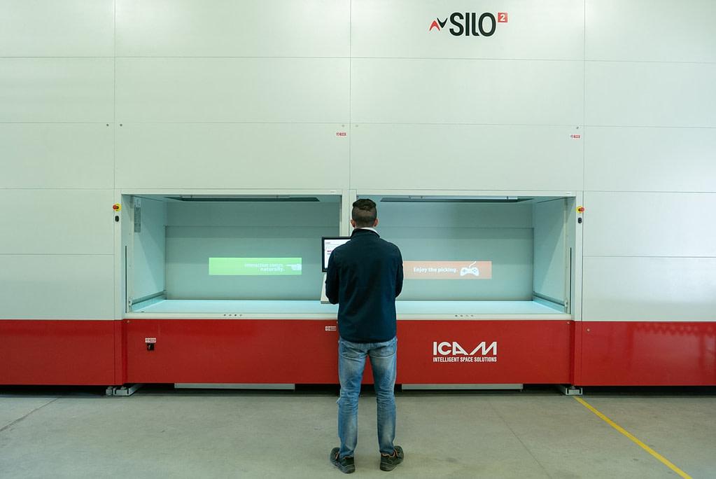 ICAM | Ottimizzazione dello spazio e tracciabilità real-time per Strumentazione Industriale
