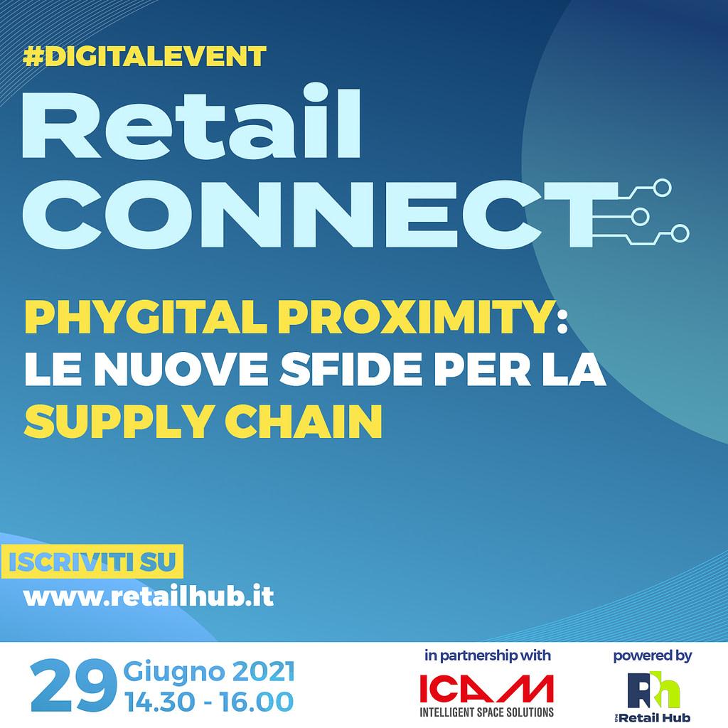 ICAM | ICAM partner di Retail Connect, l'evento digitale di Retail Hub sul tema della Phygital Proximity