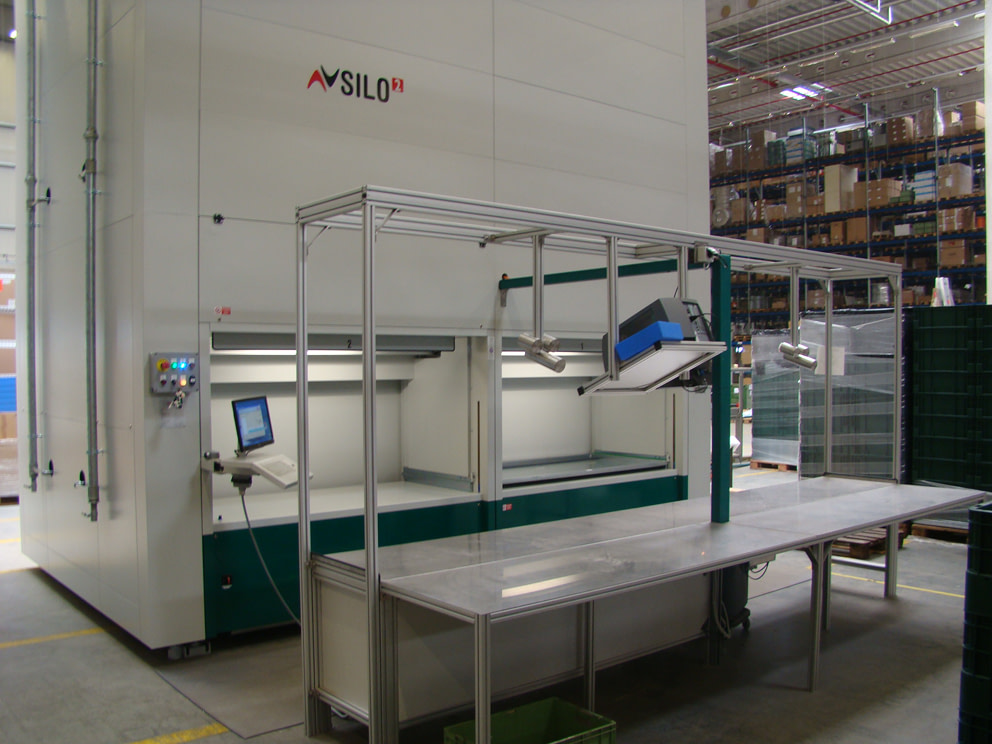 ICAM | Magazzini SILO² con sistema pick-to-light per l'allestimento ordini di GEA Farm Technologies