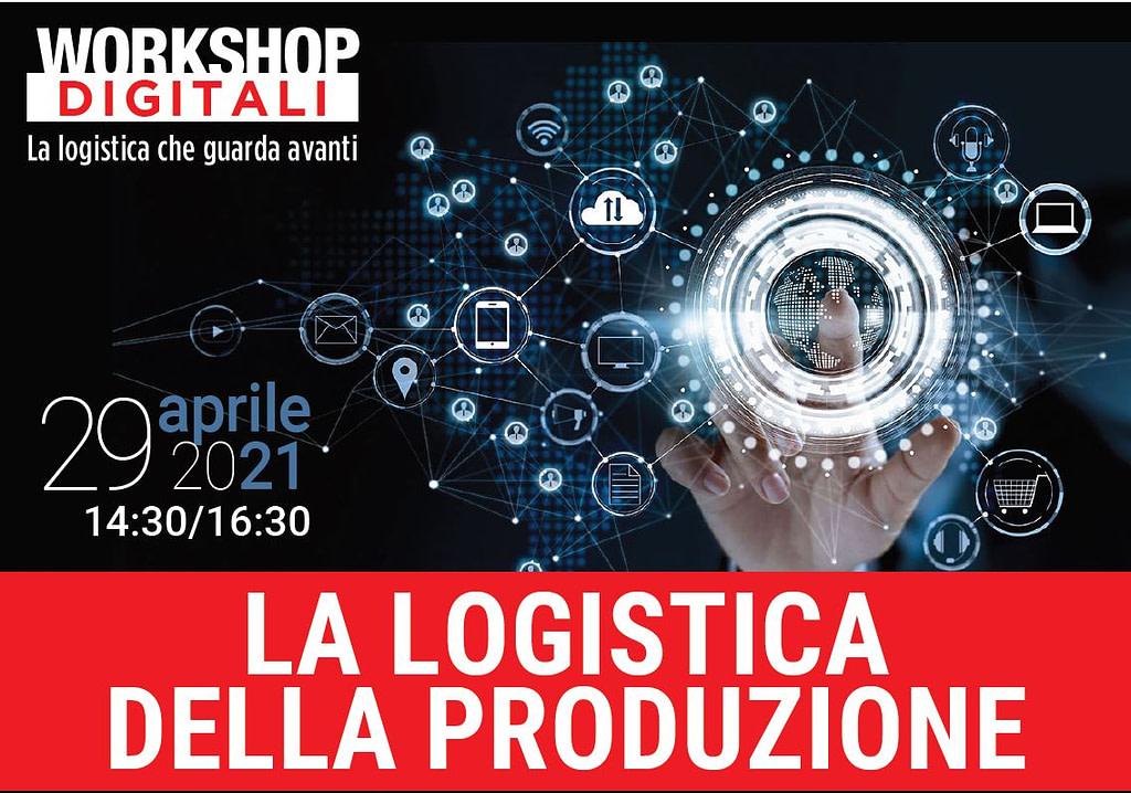 """ICAM   ICAM al webinar """"Sistemi avanzati per la logistica della produzione"""" di Logistica Management"""
