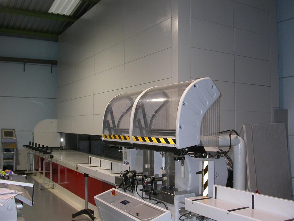 ICAM | Stoccaggio multi-livello per i serramenti di Prometal