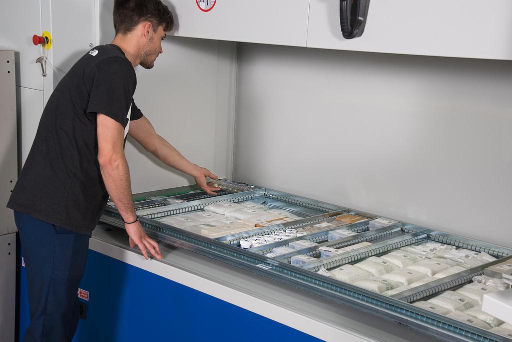 ICAM | La logistica di magazzino di FIMAC spicca il volo con il magazzino automatico 4.0 SILO²