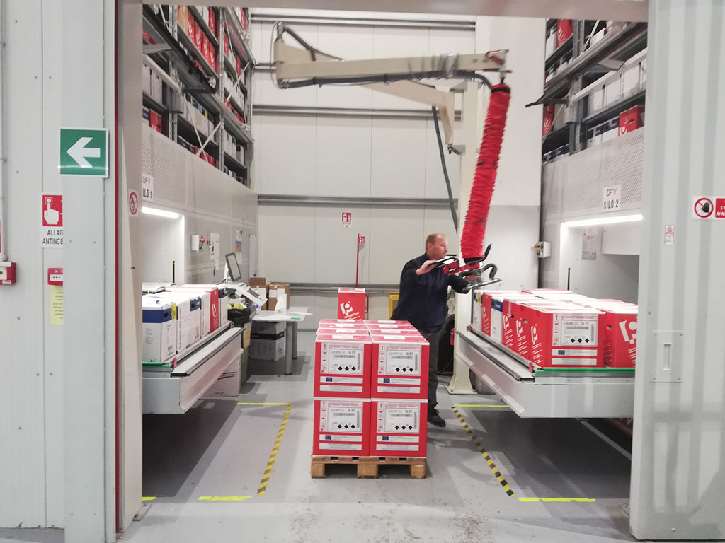 ICAM | Magazzini verticali SILO² al servizio della produzione just-in-time di DFV